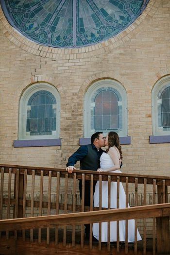 Bride and groom. Two People Heterosexual Couple Togetherness Love Young Couple Women Romance Bench Girlfriend Men Adults Only People Adult Young Women Day Outdoors Pew Young Adult