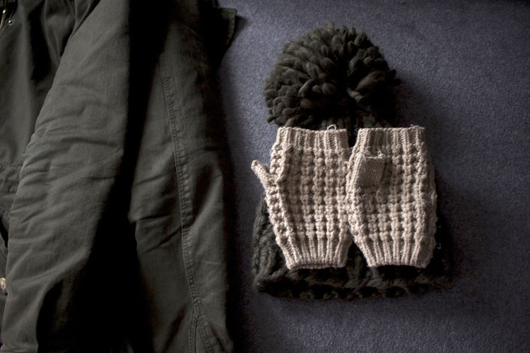 Wintertime Indoors  Let's Go Outside No People Textile Winter Outfit