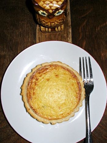 Food Quiche owl Owl Fork