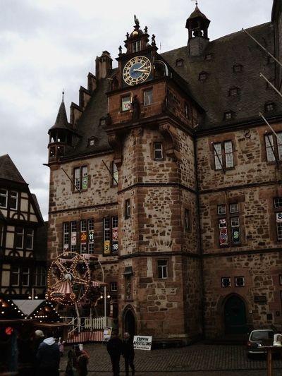Rathaus in Marburg , Cityhall Marburg An Der Lahn Germany Deutschland Vscocam Weihnachtsmarkt Christmas Old Town