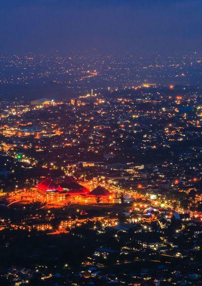 Batu city at