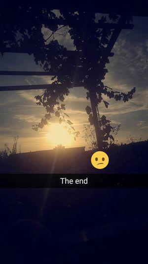 Sunset Technology Communication Close-up Sky