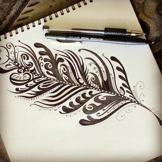 Looky what I did...Doodle Zenart Zendoodle Toomuchtimeonmyhands loveliest