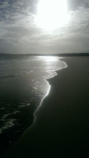 Beach Beauty In Nature Horizon Over Water Outdoors Scenics Sea Sunlight Water