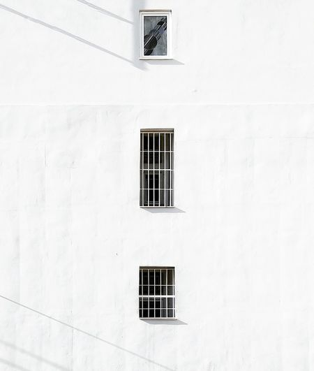 Windows Of White Building