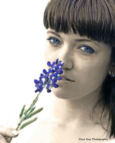 High key photo MyPhotography Canon Dslr Bluebonnets Blue Eyes Eyes Highkey Flower Texas Check This Out Photoshoot ♡