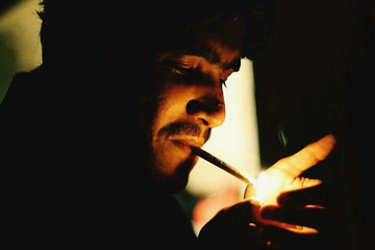 Lightup Smoking Fire Color Eye4photography  Mybadhabbit