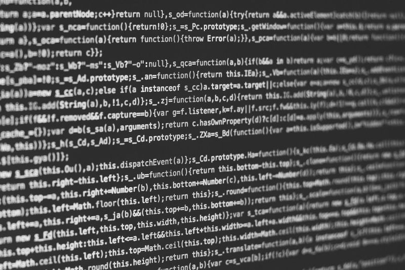 Backend Webmaster Coding Js Javascript Technology Data Coding Internet Computer Language Full Frame Binary Code Backgrounds No People Big Data Indoors