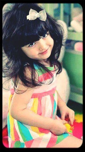 she's. . . baby doll muaah... ♥ u