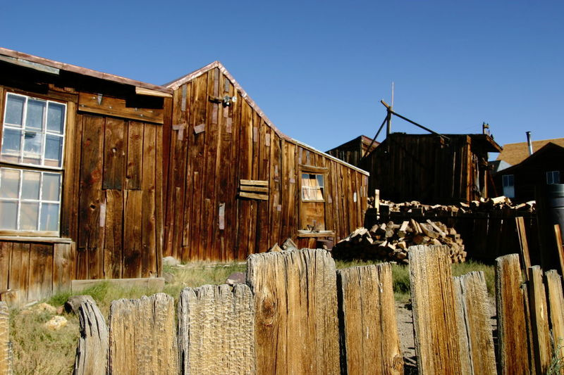 California Historic City Old Town USA Bodie Old Town Far West History Stati Unitì Villaggio