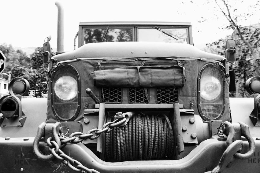 Military WW2 truck Black & White Black And White Blackandwhite Blackandwhite Photography Land Vehicle Machine Part Military Military Truck Mode Of Transport Old Truck Ww2