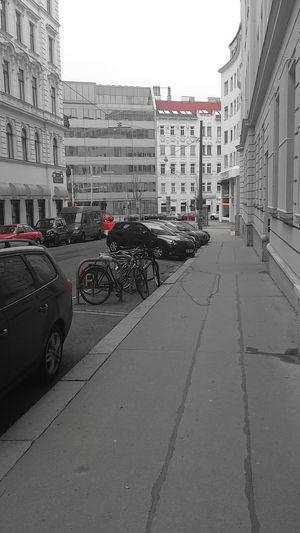März 2014 Streetphotography Teilweise Farbig