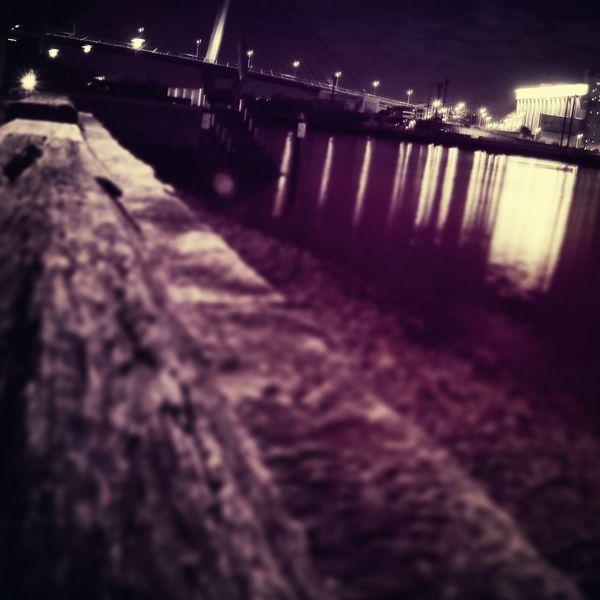 ANZAC Bridge Lonley Urban Light Nightlights First Eyeem Photo
