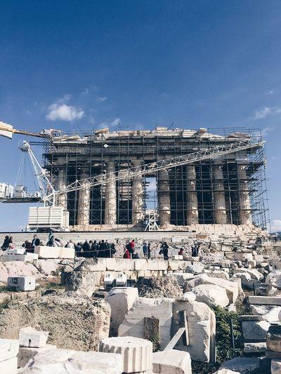 Parthenon on