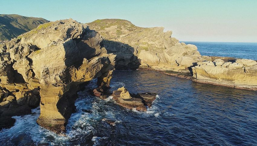 Robberg Nature Reserve (drone) Sea Rock - Object Nature Scenics Water Beauty In Nature Tranquil Scene Beach Horizon Over Water Tranquility Outdoors Day Clear Sky No People Landscape Sky Animal Themes Wave Drone  Phantom 4 Pro Droneshot Power In Nature Nature