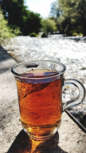 Munzurnationalpark çay Drink Refreshment Food And Drink Close-up Glass Focus On Foreground