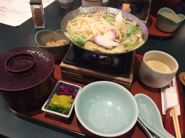Udon Noodles Udon Lunch