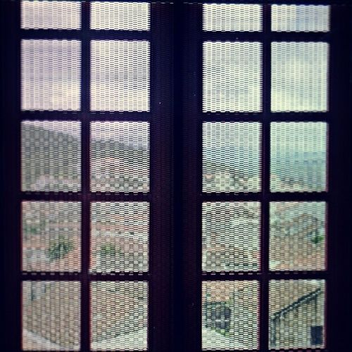 vista toldada blurred vision [vista da vila, a partir da torre do castelo de belmonte; view of the village from the tower of the belmonte castle] Vista Janela Torre Castelo Belmonte View Window Tower Castle Fotodesafio9