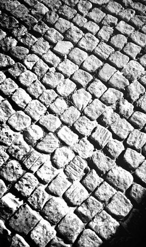 Showcase March Cobblestone Cobblestones Cobblestone Streets Check This Out Flagstones EyeEm Best Shots Pavements B/w B/W Photography Taking Photos