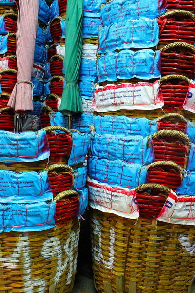 Basket Bamboo Basket Abstract Wicker Wicker Color ใน Thailand