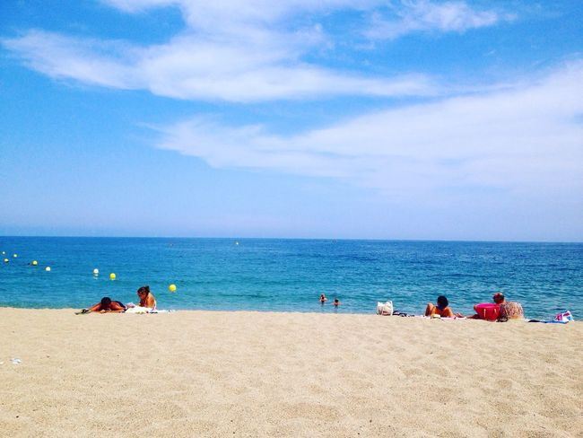 Holiday Vacances Iphonography Iphone5C ©FlorianeF Argeles France Racou Lovephotographyandnature Landscape Sun Sea Sky