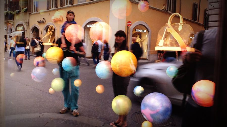 Streetphotography Shopwindow Photography Rome Italy
