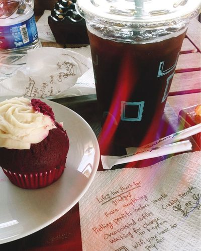Caribou Coffee Life Life is too short to be sad