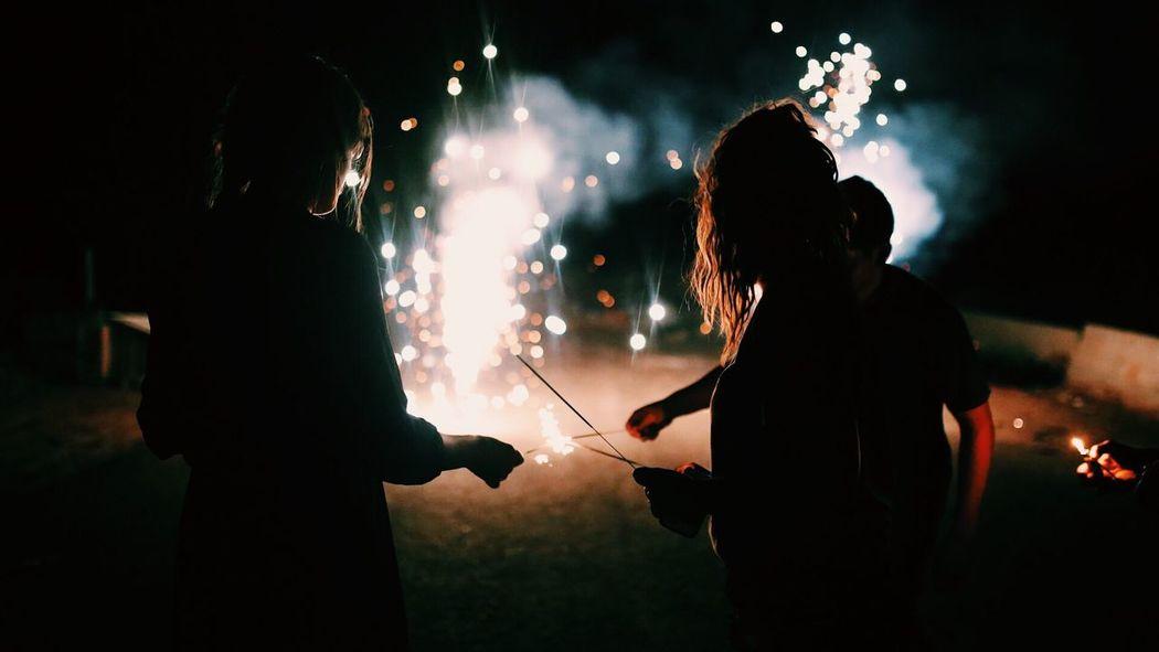Night Firework - Man Made Object Bonfire Weekend Activities Friendship Sparkles Fresh On Market 2016 #HolidayMarketing