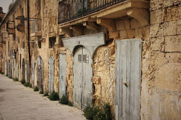 Old doors of