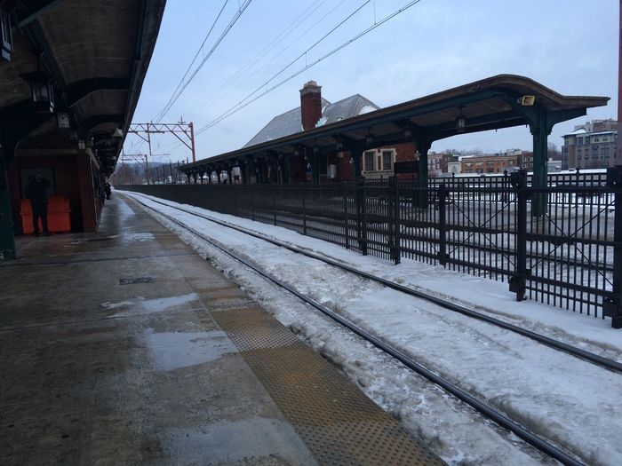 Train Station Snow ❄