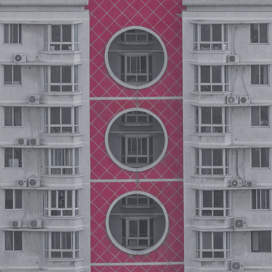 Architecture Building Exterior Built Structure City Day Exterior Full Frame No People Outdoors Red Residential Building Window
