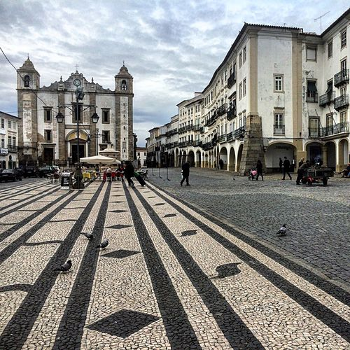 Shooting in Évora  Hanging Out Eye4photography  Downtown Alentejo Portugal Square