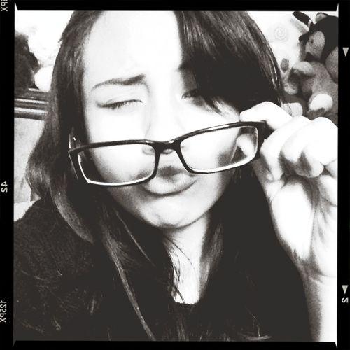 Ugly Glasses Bored