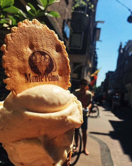 Street Food Worldwide Amsterdam Ice Cream Monte Pelmo Summer Happy Yummy Focus Visualsoflife Happy Place Monte Pelmo Icecream