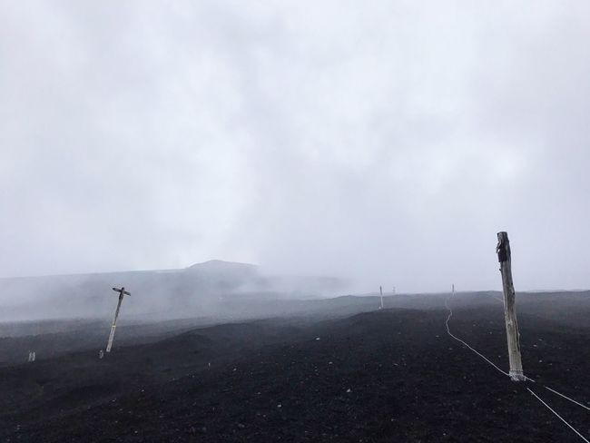 IPhoneography IPhone7Plus Trail Mt,Fuji Fog Outdoors No People The Great Outdoors - 2017 EyeEm Awards