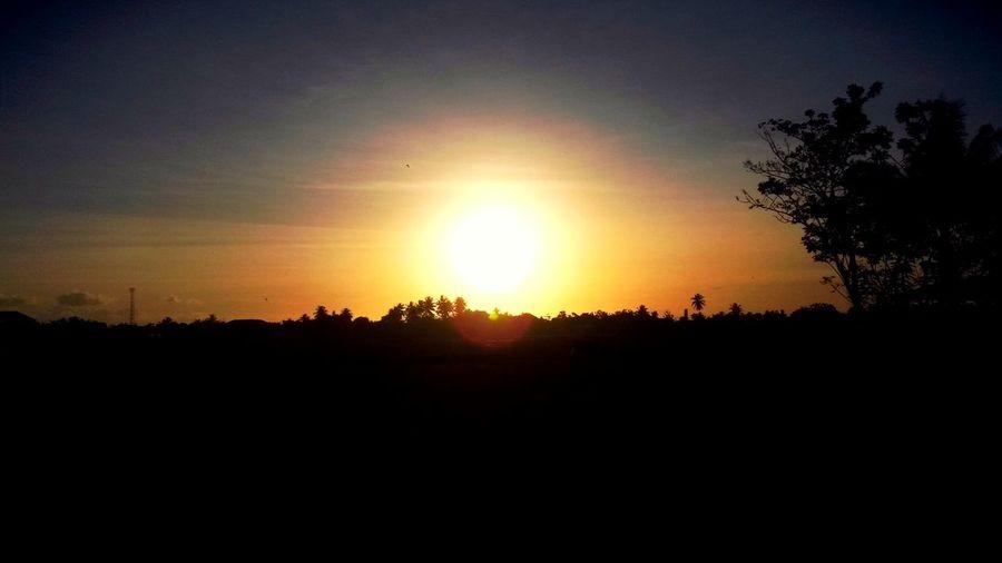 Siluet Landscape Sunset EyeEm Indonesia