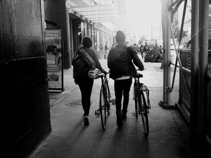 🚲 NYC NYC Photography EyeEm Best Shots - Black + White Monochrome Manhattan Panasonic  Lumixgx7 Allysdms EyeEm Best Shots Friends