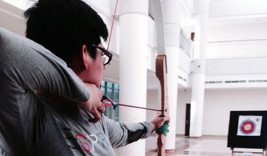 Aim the target ! My Hobby Archery Indonesiamemanah Archer Arjuna Sport Sports Photography