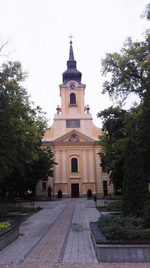Gyula Catholic Church Church Catholic Religion
