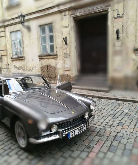 Ferrari 250 GT/E Mode Of Transport Car The Street Photographer - 2017 EyeEm Awards Been There. Connected By Travel