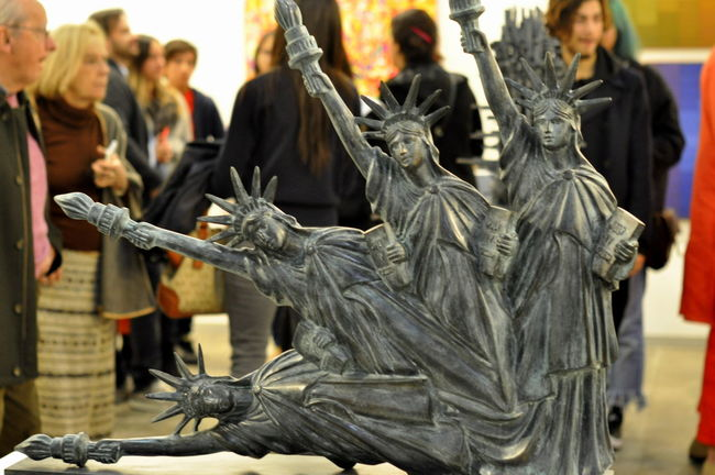 Art Art And Craft Arts Culture And Entertainment ArtWork Minujin Sculpture Statue Statue Of Liberty
