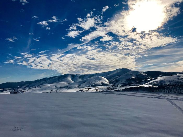 Snow Covered Snow Zlatibor, Serbia Zlatibor ❄️️ Zlatibor Serbia Quite Place Snow Cold Temperature Winter Sky Scenics - Nature Beauty In Nature Mountain Tranquil Scene Environment Nature Day Cloud - Sky Snowcapped Mountain Sunlight Idyllic