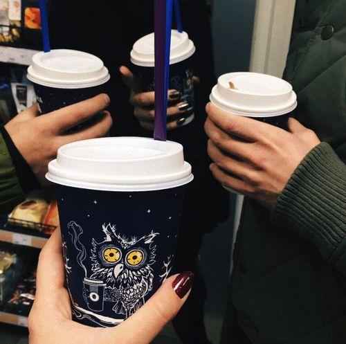 Nightshot Night Coffee Friends