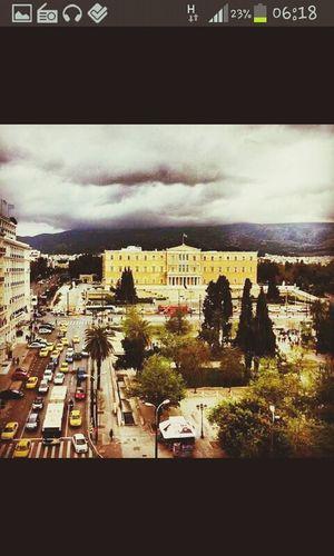 Athens Greek Parliament City Life