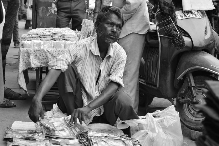 One Man Only Only Men Retail  One Person Small Business Real People Market People Food Day Photography Photographer Chandnichowk Poverty Poverty Lives. Poverty_moments Poorpeople Poor  Streetphotography Street Lives Hard Povertyofindia Poorman Seller EyeEmNewHere The Week On EyeEm