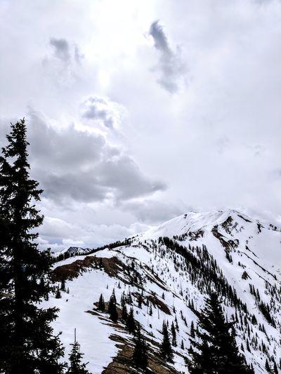 See you at the top Outdoors Mountain Winter Vacation Skiing Aspen Colorado Rocky Mountains