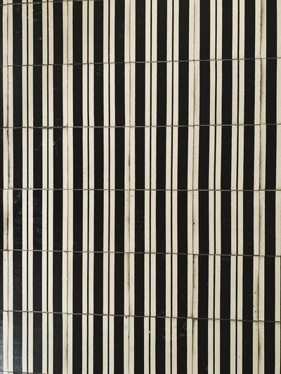 Striped Black And White Lines Full Frame Pattern Backgrounds No People Architecture Built Structure Repetition