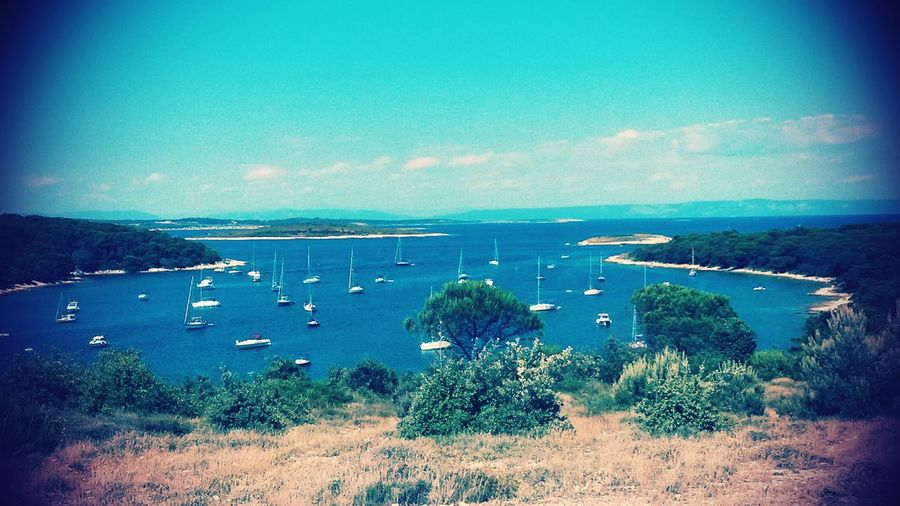 Cape Kamenjak, Croatia Bay Sailboat Eyeopener