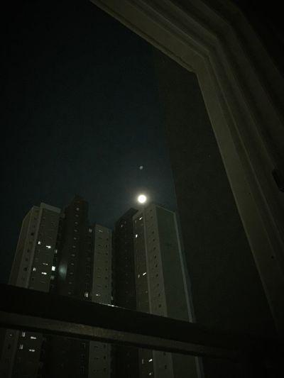 달님, 달님, 늘 행복하게 해 주세요. Moon Moonlight 2016 EyeEm Awards Landscape IPhoneography Leechangwon Apartment