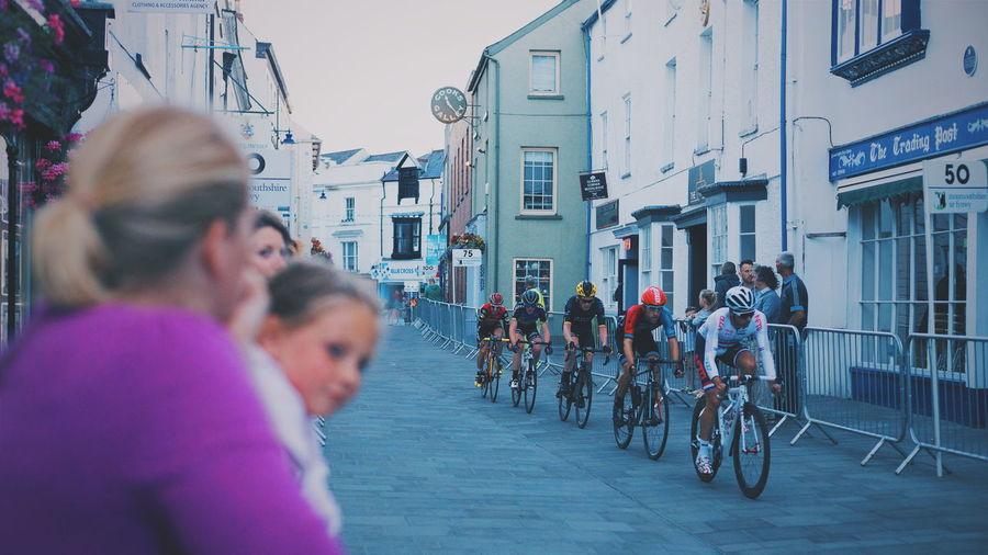 Abergavenny Cycling Cycling Race Criterium Elite Circuit Series Racing Spectator